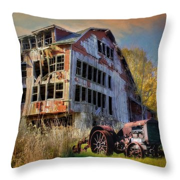Long Forgotten Throw Pillow by Lori Deiter