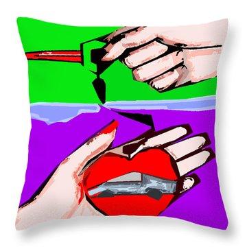 Love Affair Throw Pillow by Patrick J Murphy