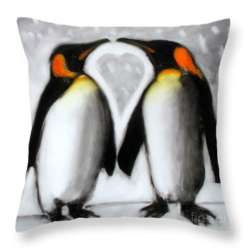 Love Throw Pillow by Paul Powis