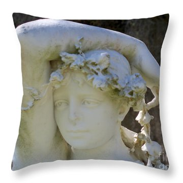 Lovesick Throw Pillow by Deborah Montana