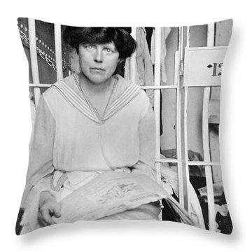 Lucy Burns (1879-1966) Throw Pillow by Granger