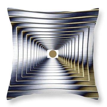 Luminous Energy 1 Throw Pillow by Will Borden