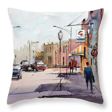 Main Street - Wautoma Throw Pillow by Ryan Radke