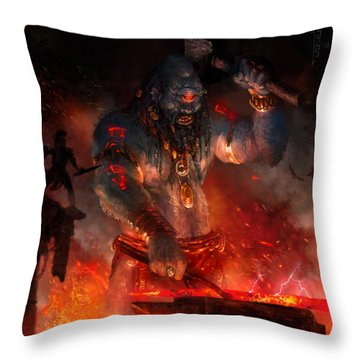 Maker Of The World Throw Pillow by Ryan Barger