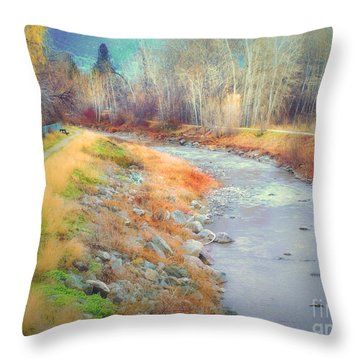 March 21 2010 Throw Pillow by Tara Turner