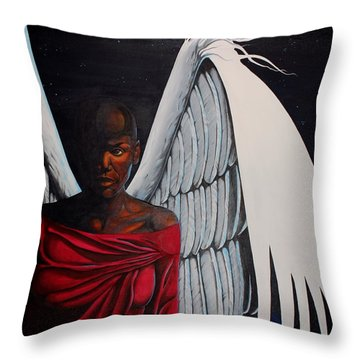 Meditation Throw Pillow by William Roby