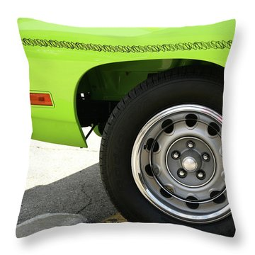 Meep Meep 440 Throw Pillow by Gordon Dean II