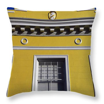 Mellow Yellow Throw Pillow by Skip Hunt