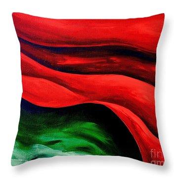 Melting Point 2 Throw Pillow by Herschel Fall