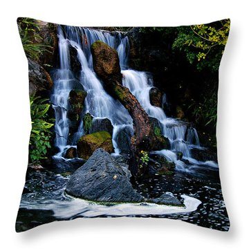 Mental Vacation Throw Pillow by Clayton Bruster