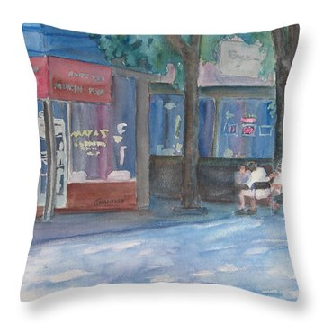 Mexican El Fresco Throw Pillow by Jenny Armitage
