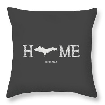 Mi Home Throw Pillow by Nancy Ingersoll