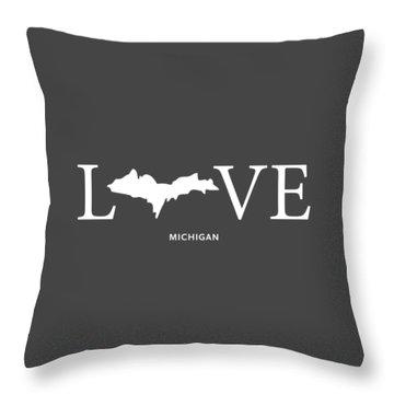 Mi Love Throw Pillow by Nancy Ingersoll