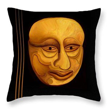 Midas Throw Pillow by Rafi Talby