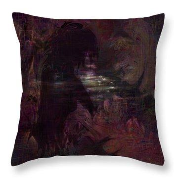 Midnight Dream Throw Pillow by Rachel Christine Nowicki