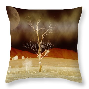 Midnight Vogue Throw Pillow by Holly Kempe