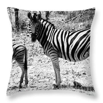 Mimic Throw Pillow by Andrew Paranavitana