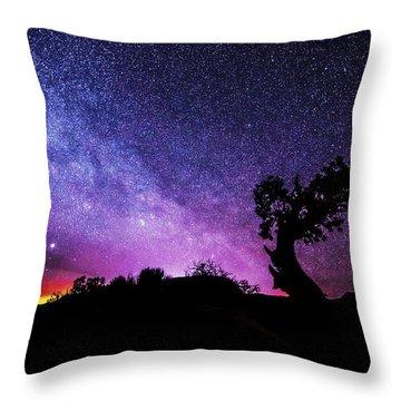 Moab Skies Throw Pillow by Chad Dutson