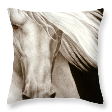 Moonrise Throw Pillow by Pat Erickson