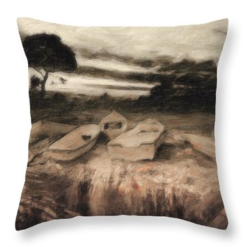 Moss Throw Pillow by Taylan Soyturk