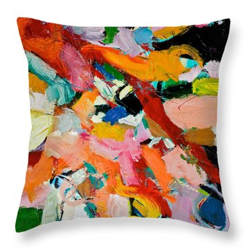 Most Devoted Ghost Throw Pillow by Allan P Friedlander