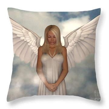 My Guardian Throw Pillow by Alexander Butler