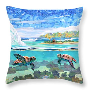 My Place Throw Pillow by Patrick Parker