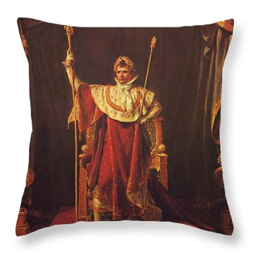 Napoleon Throw Pillow by War Is Hell Store
