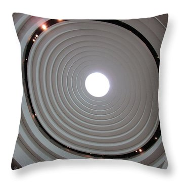 National Museum Of The American Indian 2 Throw Pillow by Randall Weidner