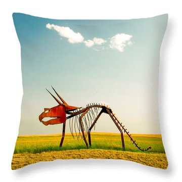 Natural Selection Throw Pillow by Todd Klassy