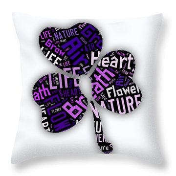 Nature Throw Pillow by Marvin Blaine