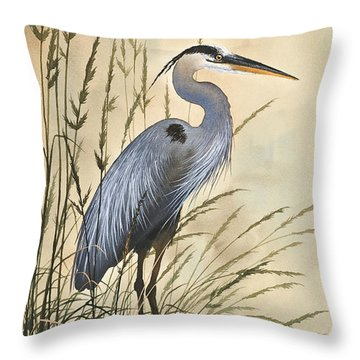 Nature's Harmony Throw Pillow by James Williamson
