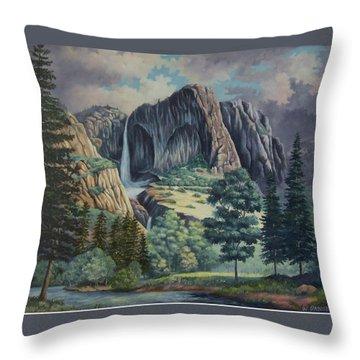 Natures Wonder Throw Pillow by Wanda Dansereau