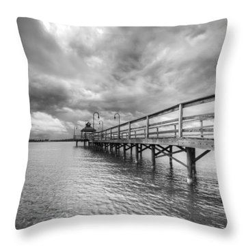 Neatahwanta Throw Pillow by Everet Regal