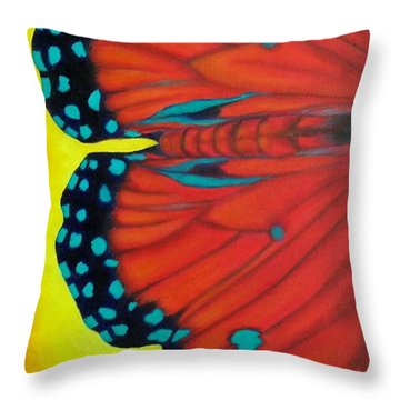 New Beginnings Throw Pillow by Susan DeLain