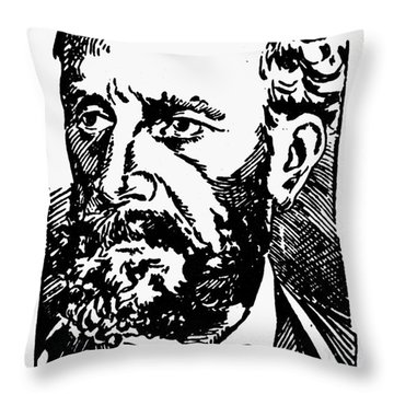 New Orleans: Mafia, 1891 Throw Pillow by Granger