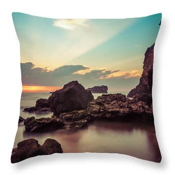 Throw Pillow featuring the photograph New Vision by Thierry Bouriat