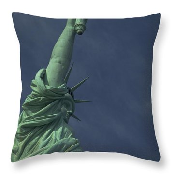 Throw Pillow featuring the photograph New York by Travel Pics