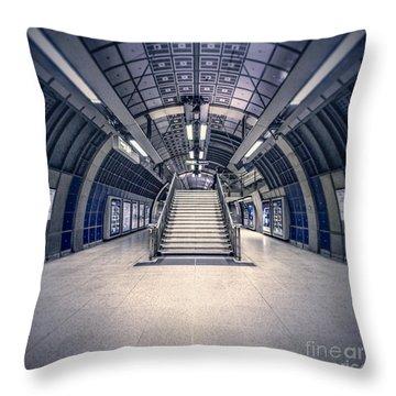 Next Flight Up Throw Pillow by Evelina Kremsdorf
