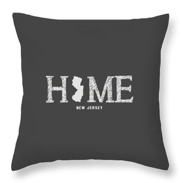 Nj Home Throw Pillow by Nancy Ingersoll