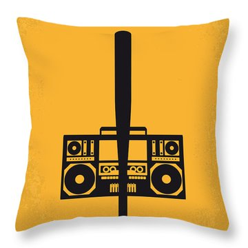 No179 My Do The Right Thing Minimal Movie Poster Throw Pillow by Chungkong Art