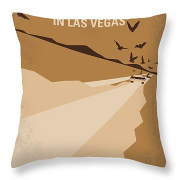 No293 My Fear And Loathing Las Vegas Minimal Movie Poster Throw Pillow by Chungkong Art