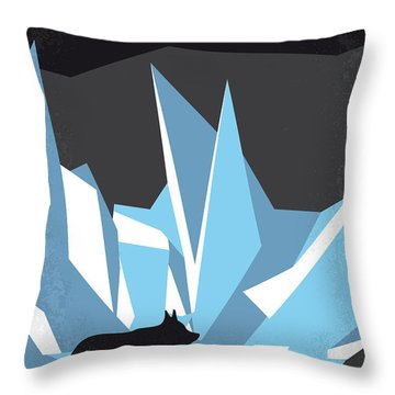 No466 My The Thing Minimal Movie Poster Throw Pillow by Chungkong Art