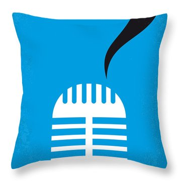 No505 My Cry-baby Minimal Movie Poster Throw Pillow by Chungkong Art