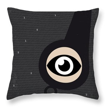 No598 My Citizenfour Minimal Movie Poster Throw Pillow by Chungkong Art