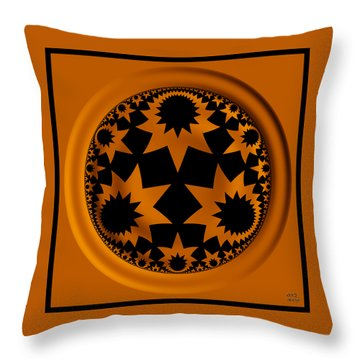 Noetic Science Throw Pillow by Manny Lorenzo