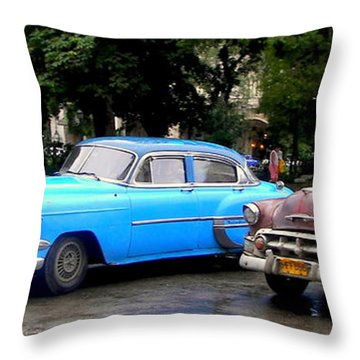 Nostalgia Throw Pillow by Karen Wiles