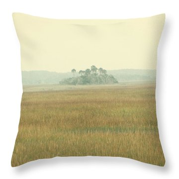 Oasis Throw Pillow by Amy Tyler