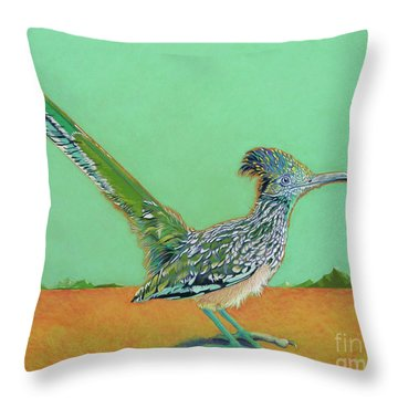 Of Two Minds Throw Pillow by Tracy L Teeter