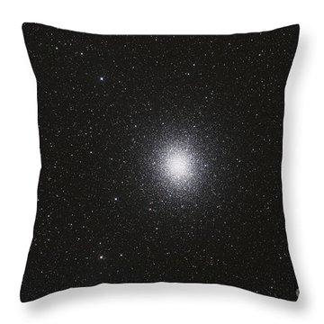 Omega Centauri Globular Star Cluster Throw Pillow by Philip Hart
